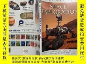 二手書博民逛書店DK罕見Eyewitness Books: Space Exploration DK 目擊者百科:太空探索 英文原