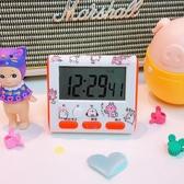可愛創意迷你小鬧鐘網紅學生用做題記時器桌面時鐘廚房秒表定時器【快速出貨八折搶購】