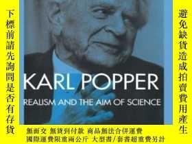 二手書博民逛書店Realism罕見And The Aim Of Science-現實主義與科學目的Y436638 Karl P