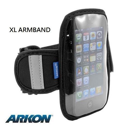 ARKON  Apple iPod touch 6、iPhone5/5C/5S及4吋螢幕手機專屬運動臂套 (XL ARMBAND)