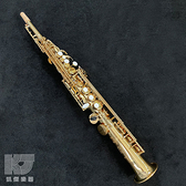 ~凱傑樂器~G Class GS 888 鍍金漆黃銅按鍵Soprano Sax 高音薩克斯