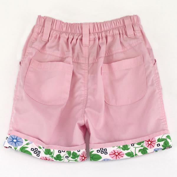 【愛的世界】純棉鬆緊帶五分褲-粉/10~12歲-台灣製- ★春夏下著