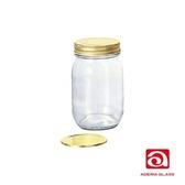 日本ADERIA 雙蓋玻璃儲物罐475ml (2入)