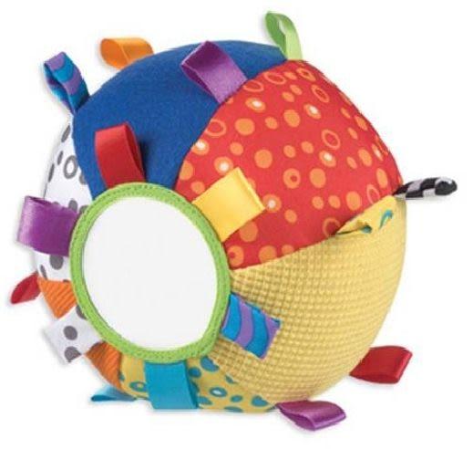 *babygo* Playgro 叮噹球布質玩具