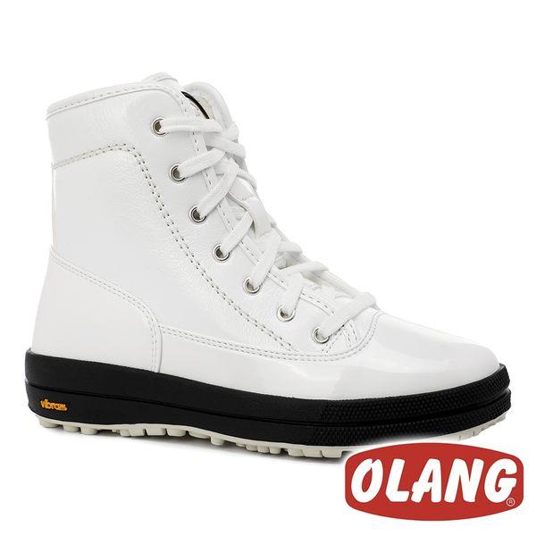 【義大利 OLANG】女 SOUND 保暖雪靴『白色』【內厚鋪毛 / 防滑鞋底】 雪鞋 雪地靴 OL-1801W
