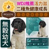 【培菓平價寵物網】新包裝活力滋Holistic》無穀幼犬二種魚健康成方-12lb/5.44kg