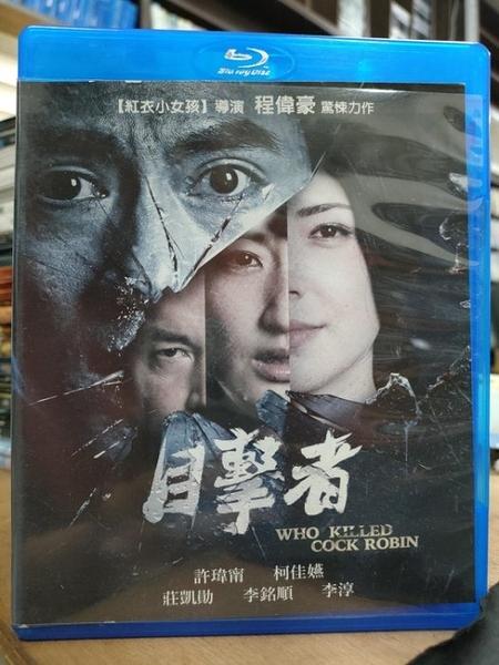 挖寶二手片-0244-正版藍光BD【目擊者】華語電影(直購價)