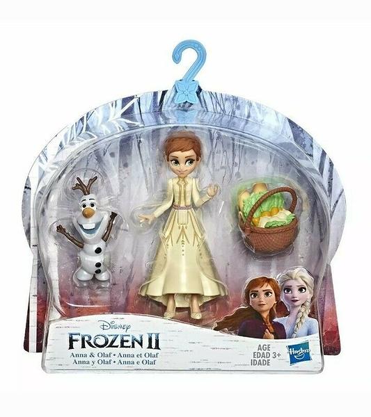 《 Disney 迪士尼 》冰雪奇緣2 迷你公主與陪伴配件組 - 安娜 / JOYBUS玩具百貨
