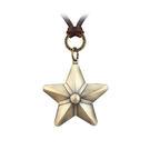 五角星皮繩項鍊-夢想家-春裝新品-復古時尚星星五角星皮繩長款吊墜項鏈-0323