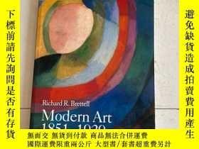 二手書博民逛書店Modern罕見Art 1851-1929 : Capitalism and Representation 現代藝