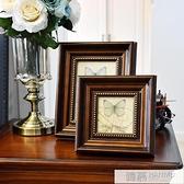 美式復古相框擺台洗曬照片沖印加做成擺件創意掛墻6 7 10七寸定制 夏季新品