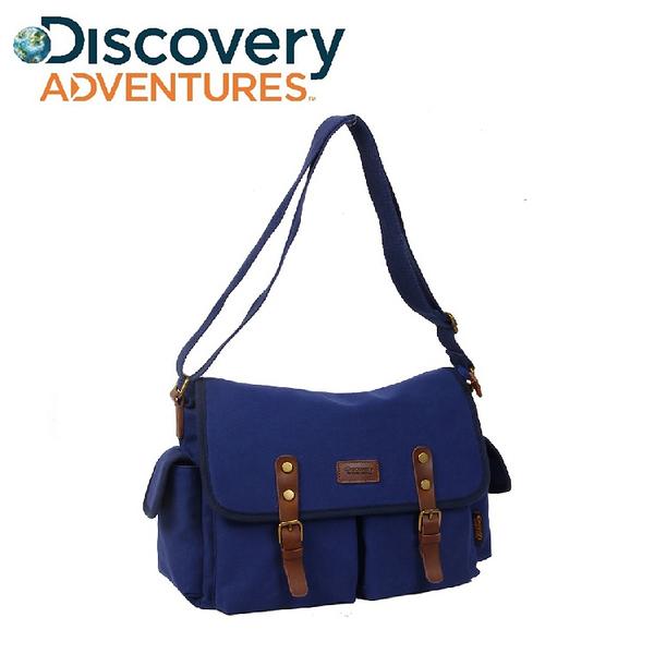 Discovery Adventures 復古系列 時尚簡約 郵差包 男側斜背包《YV8706》快樂生活網