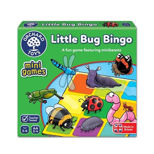【英國 Orchard Toys】兒童桌遊-配對遊戲 昆蟲賓果 OT-359 Little Bug Bingo