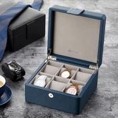 手錶收納盒 手表盒木制手串收集整理收納盒簡約表箱手表收藏生日禮物男 【免運】
