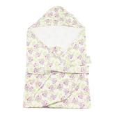 【愛的世界】純棉小猴子三角帽抱巾-台灣製-  ---用品推薦