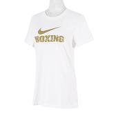 Nike Training Tee [561423100BX70] 女 短袖 T恤 運動 訓練 休閒 舒適 寬鬆 白