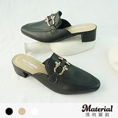跟鞋 時尚銜扣穆勒鞋 MA女鞋 T72205