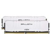 Micron Crucial 美光 Ballistix 16GB (8GB*2) 白色 DDR4-3200 16-18-18-36 桌上型電腦 記憶體 (BL2K8G32C16U4W)
