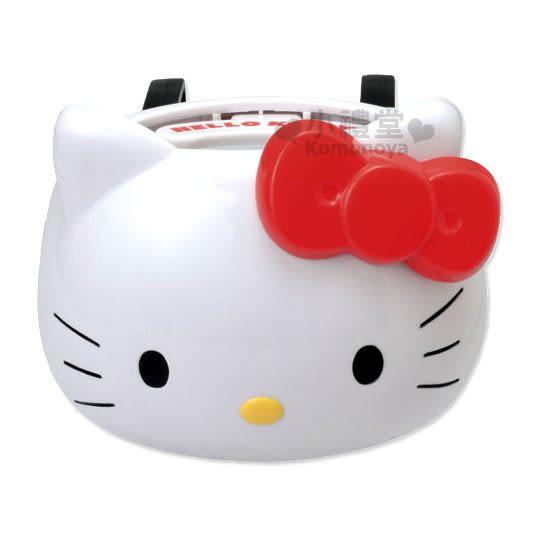 〔小禮堂〕Hello Kitty 汽車用飲料架《KT造形》方便又可愛 4905339-86284
