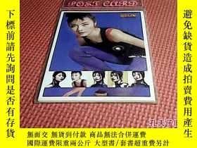 二手書博民逛書店KELLY卡片(postcard罕見collection卡片收集