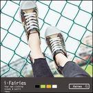 厚底帆布鞋休閒鞋★ifairies【48400】