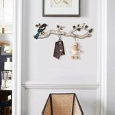 美式創意裝飾掛鉤玄關置物架牆上壁掛客廳臥室門口掛鑰匙架衣帽鉤  igo 小時光生活館