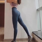 高腰緊身運動長褲女爆汗褲高彈力速干健身瑜伽提臀褲【步行者戶外生活館】