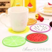 墊防滑茶杯墊簡約創意隔熱墊家用餐桌防燙碗墊 7個裝耐熱水杯矽膠艾美時尚衣櫥