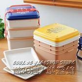 日式便當盒 多層野餐盒 大容量 可微波塑料飯盒燒烤盒手提午餐盒