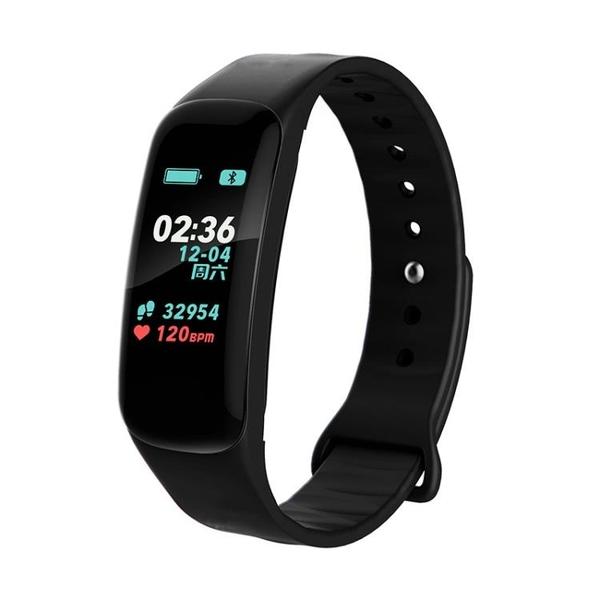 智慧手環 彩屏智慧手環運動手錶男女多功能測血壓心率睡眠記計步器藍牙防潑水