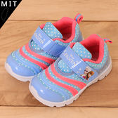 女童 冰雪奇緣 FROZEN 艾沙 安娜 毛毛蟲造型魔鬼氈 MIT製造 休閒鞋 運動鞋 59鞋廊