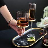 玻璃紅酒杯高腳杯家用香檳杯燭臺兩用葡萄酒杯 熊熊物語