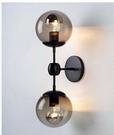 超實惠 北歐宜家美式複古客廳MODO書房客廳床頭壁燈魔豆玻璃壁燈