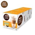 109/2月即期品★買4送1(共5盒) 雀巢 膠囊咖啡機專用 無糖拿鐵咖啡 (一條三盒入) 料號 12269435