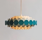 吊燈 北歐風格燈具設計感花瓣燈飾客廳燈創意美容院兒童房網紅臥室吊燈1274-8