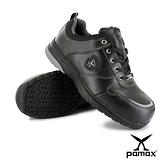 PAMAX 帕瑪斯【運動休閒型頂級氣墊止滑安全鞋】皮革製-反光設計-PS01710FEH男