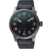 MIDO美度 Multifort 先鋒復刻機械錶-黑/44mm M0326073605009