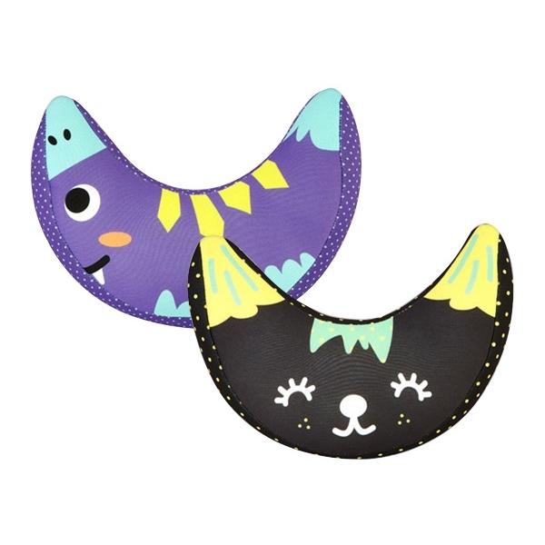 安全帶抱枕套(1入) 黑色貓咪/紫色動物 款式可選【小三美日】