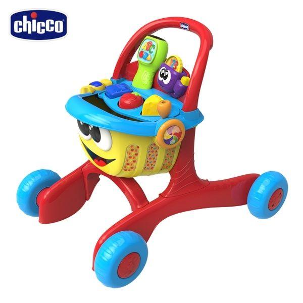 chicco-三合一歡樂學習購物車(英/義)