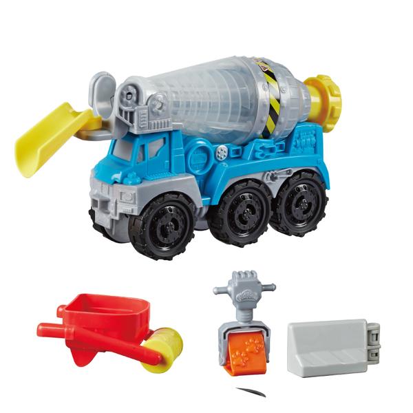 培樂多車輪系列 水泥車遊戲組