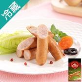 台畜德式香腸-蘿勒480g【愛買冷藏】