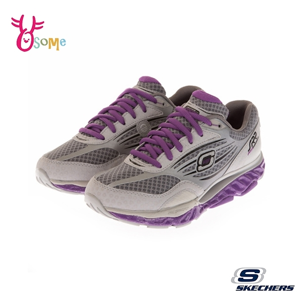 Skechers運動鞋 女鞋 SRR 彈力鞋 翹翹板 超軟Q 慢跑鞋 健走鞋 運動鞋 U8297#灰色◆OSOME奧森鞋業