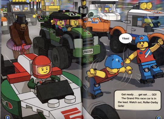LEGO CITY (樂高城市):NEED FOR SPEED
