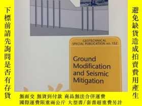 二手書博民逛書店Ground罕見Modification and Seismic