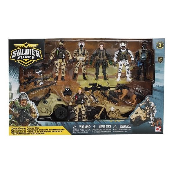 Rescue Force 巡邏人物組 玩具反斗城