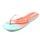 [1111 活動](A4)IPANEMA 繽紛渲染 夾腳拖鞋 人字拖鞋 IP2618220689-湖水藍/珊瑚粉