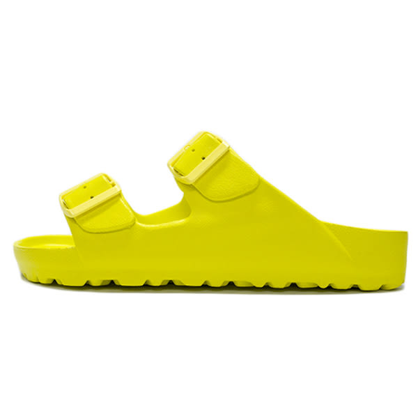Lotto 樂得 EVA 女鞋 黃色 萊姆黃 經典勃肯拖鞋 輕量 防水 台灣製 AIRWALK Birkenstock Arizona LT7AWS5624