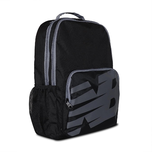 New Balance 後背包 NB Backpack 黑 灰 男女款 雙肩背 運動休閒 【ACS】 LAB11107BK