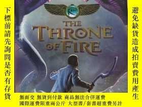 二手書博民逛書店the罕見throne of fireY2670 rick ri