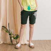 【衣大樂事】英文貼繡印花短褲